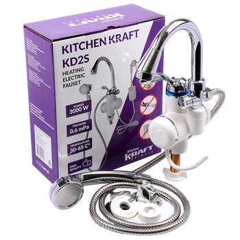 Электрический кран Kitchen Kraft KD2S