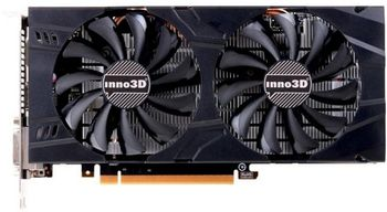 INNO3D GeForce GTX 1060 X2 / 6GB DDR5, 192bit, 1708/8000Mhz, 2x DVI, HDMI, DisplayPort, Dual Fan, Inside the Box: 3D Mark/VR Mark