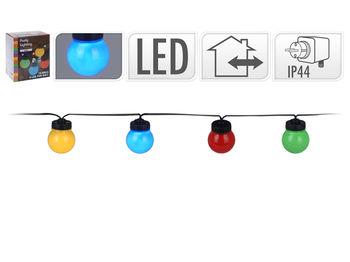 Набор лампочек Party 10шт, 5cm, разноцветные