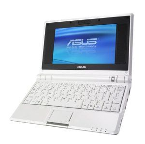 """ASUS 7"""" PC 4G Surf Pure White, WVGA, Intel Celeron M353, 512Mb DDR2, 4Gb SSD, CardReader, Wi-Fi, Linux"""