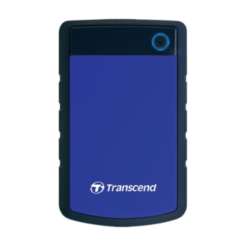 купить Внешний жесткий диск Transcend StoreJet 25H3B 1TB, Grey/Blue в Кишинёве