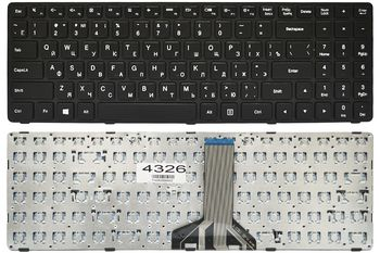Keyboard Lenovo IdeaPad 100-15IBD ENG/RU Black