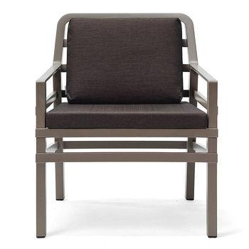 Кресло с подушками Nardi ARIA TORTORA caffe 40330.10.165.165 (Кресло с подушками для сада и терас)