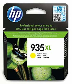 HP #935XL Yellow  Ink Cartridge, Up to 825 pages