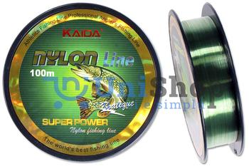 Леска монофильная KAIDA NYLON LINE 100м 0.40мм