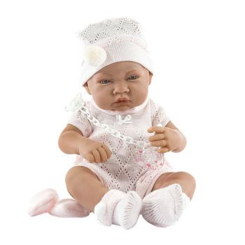 Кукла младенец Тони в розовом, 42 см Код 5064