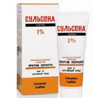 купить Паста СУЛЬСЕНА 1% профилактическая против перхоти в Кишинёве