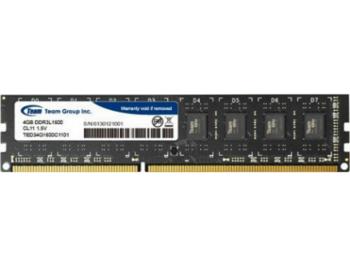 4GB DDR3 Team Elite TED34G1600C1101 4GB PC12800 1600MHz CL11, Retail (memorie/память)