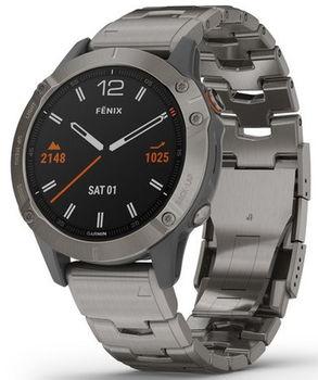 Смарт-часы Garmin fenix 6 Pro Sapphire Editions Titanium