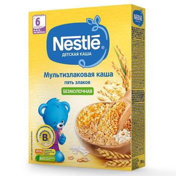 купить Каша  5 злаков Nestle, с 6 месяцев, 200г в Кишинёве