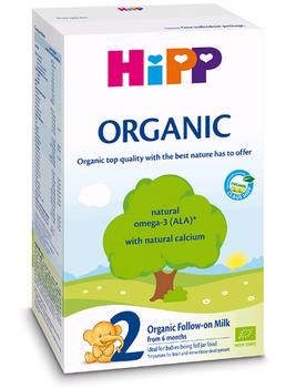 купить Hipp 2 Organic молочная смесь, 6+мес. 300 г в Кишинёве