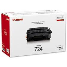 Laser Cartridge Canon 724, black (6 000 pages) for for MF512X