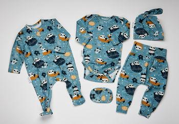 купить Набор одежды для малыша Mi-e Dor панда в Кишинёве