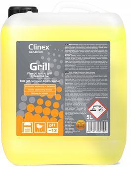 Clinex Grill 5л удаление пригоревшего жира и копоти