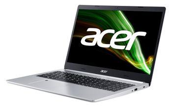 "купить ACER Aspire A515-45 Pure Silver (NX.A82EU.003) 15.6"" FHD IPS (AMD Ryzen 3 5300U 4xCore 2.6-3.8GHz, 8GB (2x4) DDR4 RAM, 512GB PCIe NVMe SSD+HDD Kit, AMD Radeon Graphics, WiFi6-AX/BT5, 3 cell, 720P Webcam, FPS, RUS, Backlit, No OS, 1.76 kg) в Кишинёве"