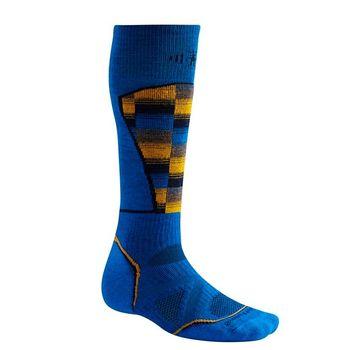 купить Носки Smartwool Man PhD Ski Medium Pattern, bright blue, SW018.378 в Кишинёве