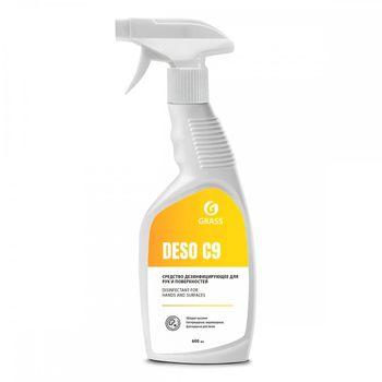 Deso C9 - Дезинфицирующее средство на основе изопропилового спирта 600 мл