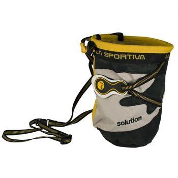 cumpără Husa magnezie La Sportiva Chalk Bag Solution , yellow, 19F în Chișinău
