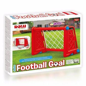 Ворота футбольные, красные, код 42426