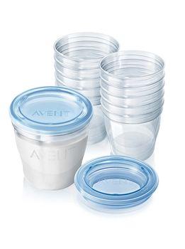 купить Контейнеры для хранения молока Philips AVENT 180 ml x 10 шт в Кишинёве