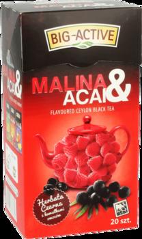 Чай черный Big Active with Raspeberry & Acai, 20 шт