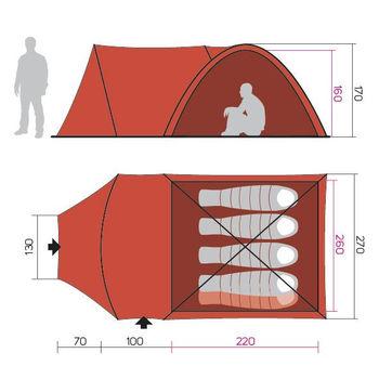 купить Палатка Hannah Tribe 4 в Кишинёве