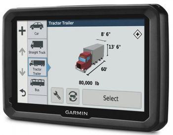GPS-навигатор Garmin dezl 580LMT