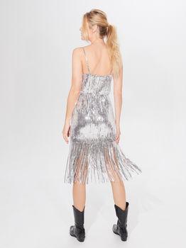 Платье MOHITO Серебряный xk689-slv