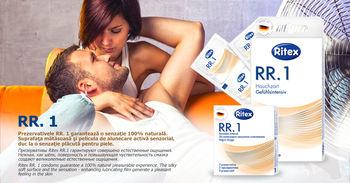 Презервативы - RITEX LUST - Точечная и ребристая поверхность, 3шт.