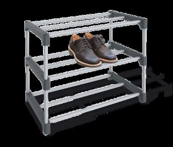 купить Полка для обуви пласт серый/тем-серый ПЛТ164 в Кишинёве