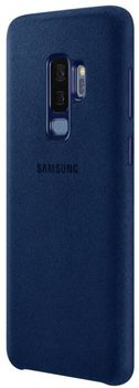 cumpără Husă telefon Samsung EF-XG965, Galaxy S9+, Alcantara, Blue în Chișinău
