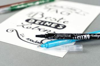 Набор двусторонних маркеров 10 шт. Artist Studio – Kalligraphie Cretacolor
