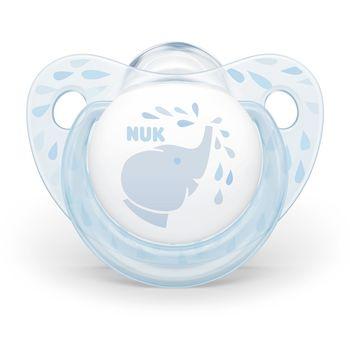 купить Пустышка силиконовая NUK Baby Blue (6-18 мес) в Кишинёве