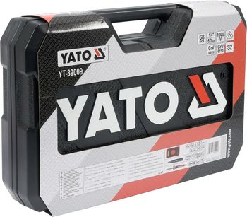 купить НАБОР ИНСТРУМЕНТОВ ДЛЯ ЭЛЕКТРИКОВ YATO (68 предметов) 39009 в Кишинёве