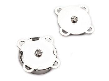 Capse magnetice de cusut, Ø18 mm / nichel