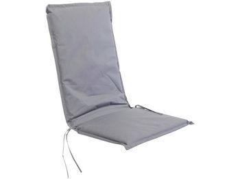 cumpără Perna pentru scaun / fotoliu 114X46X44cm, rezistenta la umezeala,poliester, gri în Chișinău