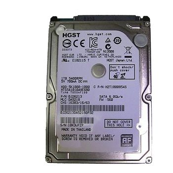 "1.0TB 2.5"" HDD Hitachi Travelstar 5K1000, 5400rpm, 8Mb, 9.5mm, SATAIII (HTS541010A9E680)"