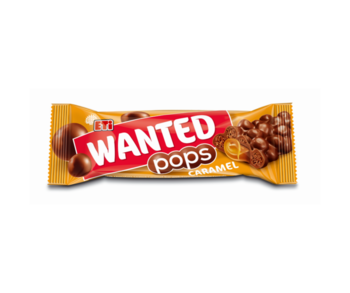 ETI Wanted Pops Caramel, 28 г