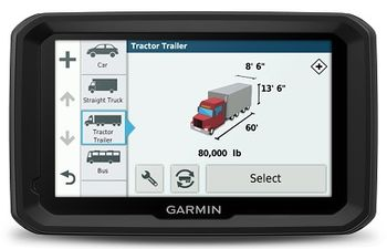 """GARMIN dezl 580LMT Truck Navigator, Licence map Europe + Moldova, 5.0"""" LCD (480*272), 16GB, MicroSD, 3D junction view/Attraction, Customized Truck Routing, Truck-specific POIs and Services, IFTA, Up Ahead, Hours of Service, up to 2 hours, 234g"""