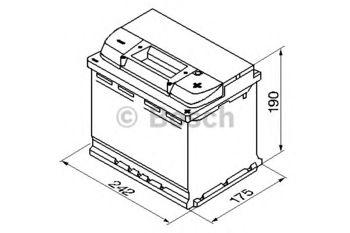 купить Аккумулятор BOSCH 12V 610AH S5 005 в Кишинёве