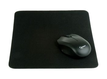 GMB MP-A1B1 Mouse pad, Black, Cloth