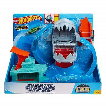 купить Mattel Hot Wheels Игровой набор Акула Робот в Кишинёве
