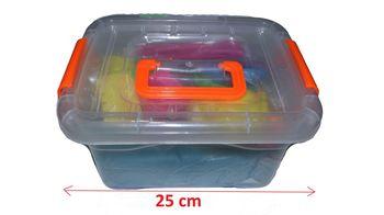 Кинетический песок + фигурки в контейнере D1612-1068 (4281)