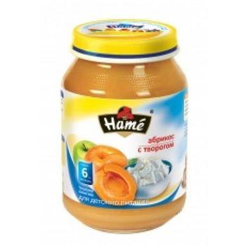 купить Hame пюре абрикос с творогом с 6+мес.190г в Кишинёве