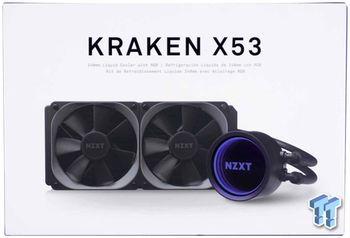 AIO Liquid Cooling NZXT Kraken X53