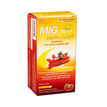 cumpără Mig Forte p/u copii 40mg/ml 100ml susp. orala. în Chișinău