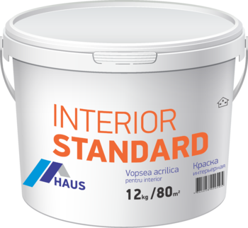 Vopsea lavabilă interior Haus Standard 6 kg