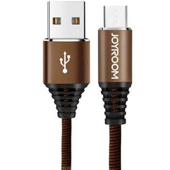 купить Кабель JOYROOM Armor S-L316 micro-USB 2A, 1м коричневый в Кишинёве
