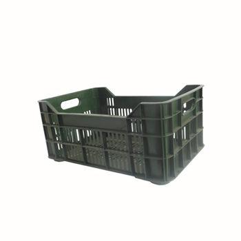 cumpără Ladă din plastic A113A, 600x400x200 mm, verde în Chișinău