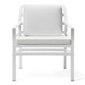 Кресло с подушками Nardi ARIA BIANCO bianco 40330.00.155.155 (Кресло с подушками для сада и терас)